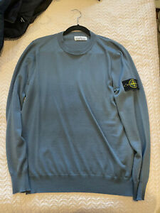 BNWOT Stone Island Knitted Sweatshirt Jumper Wool Cashmere Large RRP$450