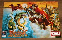 Equinox (1993 video game) very rare small Poster 42x30cm