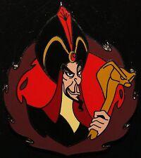 Disney Villain Aladdin Jafar w/ Cobra Staff Pin NEW ON ORIGINAL CARD