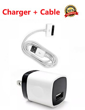 1x Wall Charger Adapter For iPhone 3Gs 4 Ipad 2/3/4 USB Data Sync Charging Cable