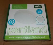 Pentland IP44 polycarbonate LED bulkhead light