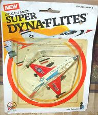 1983 Zee Toys Super Dyna-Flites General Dynamics USAF F-16 Fighting Falcon 6+ Di
