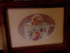 Anne Geddes/ baby/ in a porcelain/ teacup/