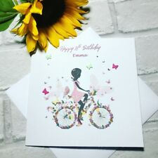Happy 16th Birthday Butterfly card for Girls/ Teens Includes free envelope
