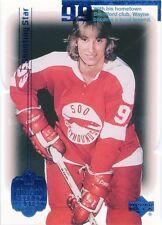 Wayne Gretzky 1999-00 UD Living Legend Blue Parallel #4 1017/1999 Oilers