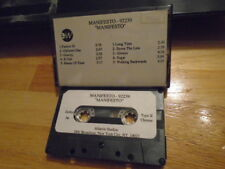 RARE ADVANCE PROMO Manifesto CASSETTE TAPE rock 91 Meatmen Youth Brigade fugazi