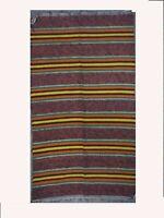 Chindi Rag Rug Handmade Recycled Cotton Indian Hand woven Carpet 4X6 feet Throw