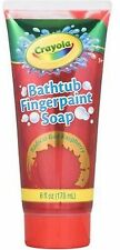 Crayola Bathtub Fingerpaint Soap,Colors May Vary 6 oz (Pack of 6)