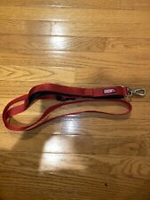 Kong Padded Handle Leash * Red * 6ft X 1 inch