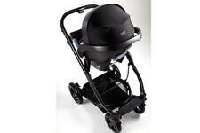 Mamas & Papas Sola City Pram Car Seat Isofix Base Lightweight Baby Black 799RRP
