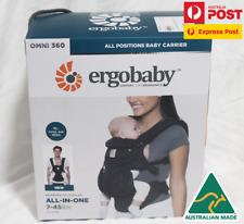 Ergobaby Omni 360 Cool Air Mesh Onyx Black BRAND NEW IN BOX Au Stock +Fast