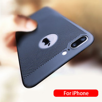 Hollow Heat Dissipation Phone Case Back Cover For iPhone 7 8 Plus XS MAX XR NEU