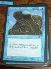 MTG Magic the Gathering TORTUE MARINE GEANTE Renaissance French RARE TOP