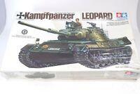 Kampfpanzer Leopard Tank Tamiya 1:35 West German Military Model Kit Sealed NOS