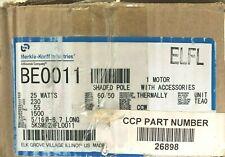 Merkle-Korff (Mk) / Ge Be0011 5Ksm92Hfl0011 25W 230V Motor, New Free Shipping!