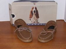Hush Puppies Hampshire Maple Leather Loafer Shoes Size 6