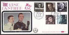 1985 BRITISH FILM YEAR SET OF 5 ON BENHAM BLCS7 FDC WITH PINK PANTHER SP/HS