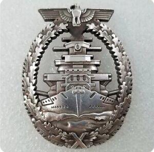 WW2 Kriegsmarine High Seas Fleet Badge 2 German Military Medal Order Pin Replica