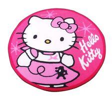 Tapis rond Hello Kitty - Diam. 90 cm - Rose