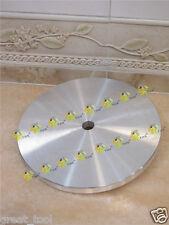 152mm 6 inch 6mm thick THK Aluminium master lap diamond flat aluminum base plate