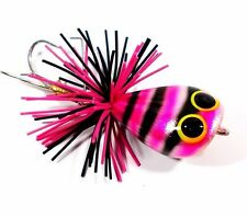 NEW FISHING JUMP FROG BAIT LURE TOP WATER BASS HANDCRAFT RESIN TACKLE HOOKS HOT