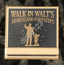 Disney Button Walk in Walt's Disneyland Footsteps button