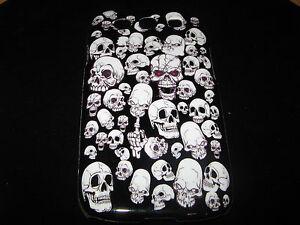 Skulls Hard Cover Case for Samsung Galaxy III S3 i9300 Multiple Skulls case