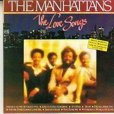 black music cd THE MANHATTANS LOVE SONGS  KISS AND SAY