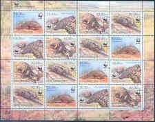 Mozambique Wwf World Wildlife Fund Ground Pangolin Sheet Of 16