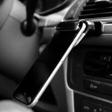 Car Phone Holder Universal Mobile Mount Stand Adjustable Gravity Black 4-7 Inch