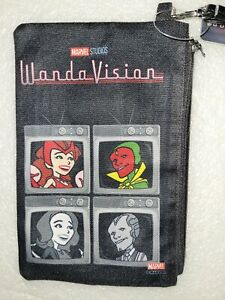 NWT Buckle Down Products Marvel Comics Wandavision Zipper Wrist Wallet Wristlet