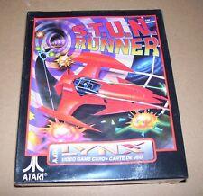 Atari Lynx video game handheld console cartridge S.T.U.N Runner NEW BOXED sealed