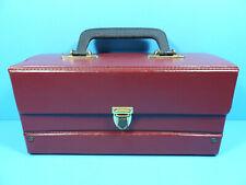 🧰 1x Kassetten Tasche Koffer Cassette Bag Box Suitcase Case * for 12 Cassettes