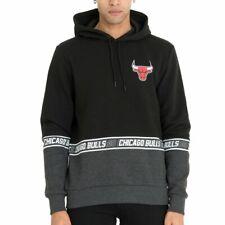 New Era Fleece Hoody - NBA COLOUR BLOCK Chicago Bulls