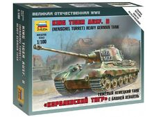 6204 KING TIGER AUSF B (HENSCHEL TURRET) - HEAVY GERMAN TANK - ZVEZDA - 1/100