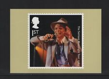 DAVID BOWIE OFFICIAL ROYAL MAIL POSTCARD featuring SERIOUS MOONLIGHT TOUR,1983 B