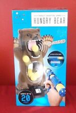 HUNGRY BEAR TARGET SHOOTING GAME WITH SOUND COUNTER PUMP ACTION BLAKJAX NEW NIB