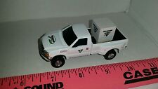 1/64 CUSTOM Ford f350 vermeer dealer pickup truck w/ parts pallet ERTL farm toy