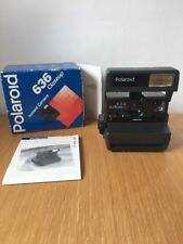 Polaroid 636 Closeup Instant Camera - Boxed / Excellent Condition - 600 Film