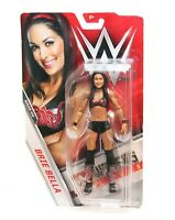 """WWE Basic Series #70 Brie Bella Black Outfit -  6"""" in. Action Figure - Mattel"""