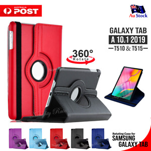 """For Samsung Galaxy Tab A 10.1"""" 2019 SM-T510 T515 Smart Leather Stand Case Cover"""