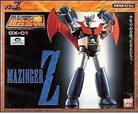 New Soul of Chogokin GX-01 MAZINGER Z Action Figure BANDAI TAMASHII NATIONS