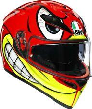 CASCO HELMET MOTO INTEGRALE AGV K3 SV BIRDY RED PINLOCK MAX VISION TG S