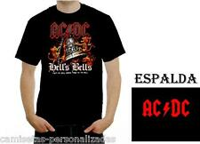 CAMISETA ACDC AC/DC HELLS BELL T-SHIRT ROCK HEAVY METAL