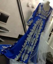 Royal British Wedding Gown Robe Soiree Hand Made Caftan Dress For Women 4407