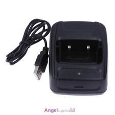 Li-ion Radio Battery Charger 100-240v USB for Baofeng BF- 888S Retevis H777