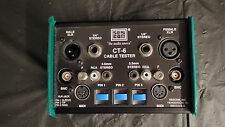 Audio/Video Line Tester/Cable Tester Sescom ct-6