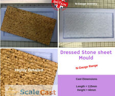 N-Scale Stone Walling Sheet scenery - N13 - N Gauge model railway stone scenery