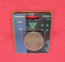 Paulmann 280.04 LED Reflektorlampe 1W GU5,3 Deko Einbauleuchte Grün 50 000h