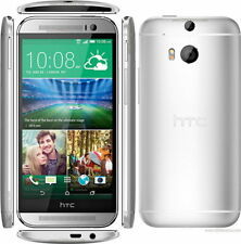 "HTC One M8 Silver  5.0"" 4G 32GB Unlocked SIM Free Smartphone Quad-Core"